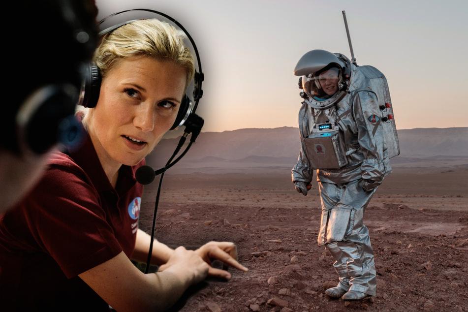 Leben auf dem Mars: Sächsin durchlebt Weltraum-Abenteuer