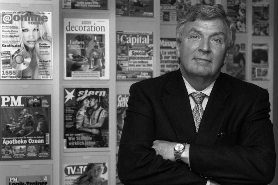 Gerd Schulte-Hillen, Ex-Vorstandsvorsitzender des Verlagshauses Gruner und Jahr AG & Co, verstarb im Alter von 80 Jahren.