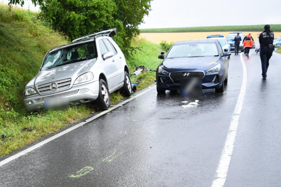 SUV schleudert in Motorrad-Fahrschüler: 24-Jähriger stirbt!
