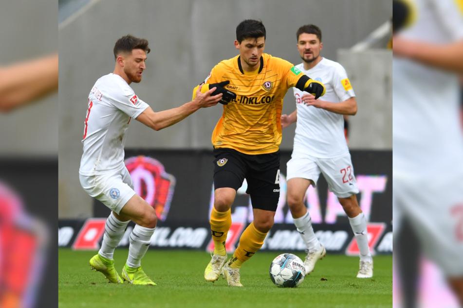 Am Donnerstag muss Jannis Nikolaou (r.) mit seinen Mannen in Kiel antreten - das Hinspiel ging 1:2 verloren.