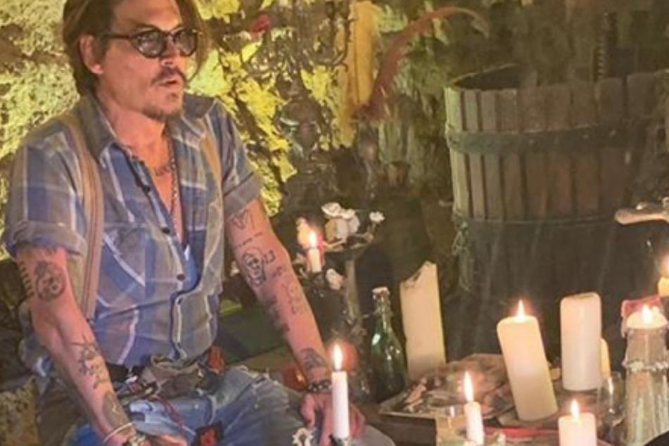 Instagram-Neuling Johnny Depp: Neuer Song und Grüße aus der Isolation