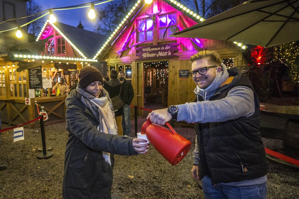 Keine Weihnachtsmärkte, aber hier gibt's Glühwein to go