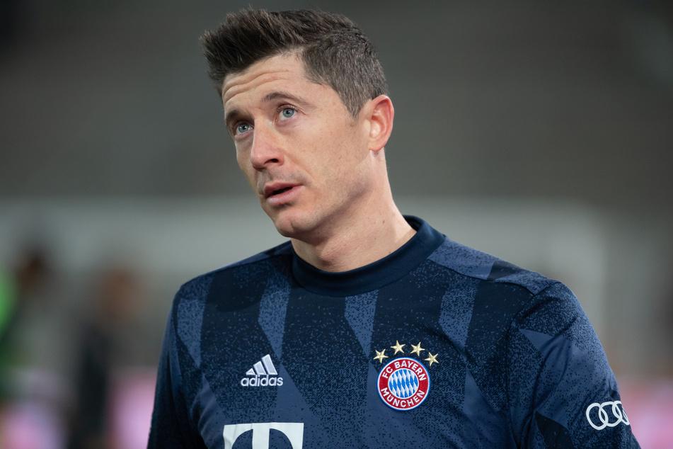 Robert Lewandowski (32) erzielte für den FC Bayern München gegen den FC Augsburg den Siegtreffer, wurde aber ausgewechselt.