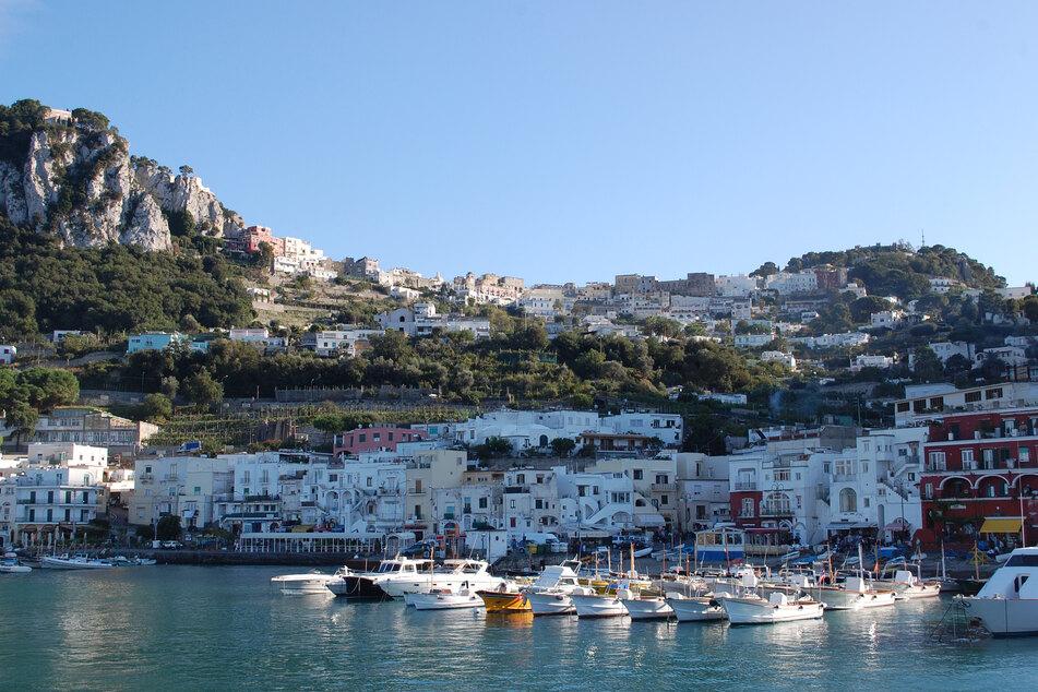 Insel Capri in Italien.