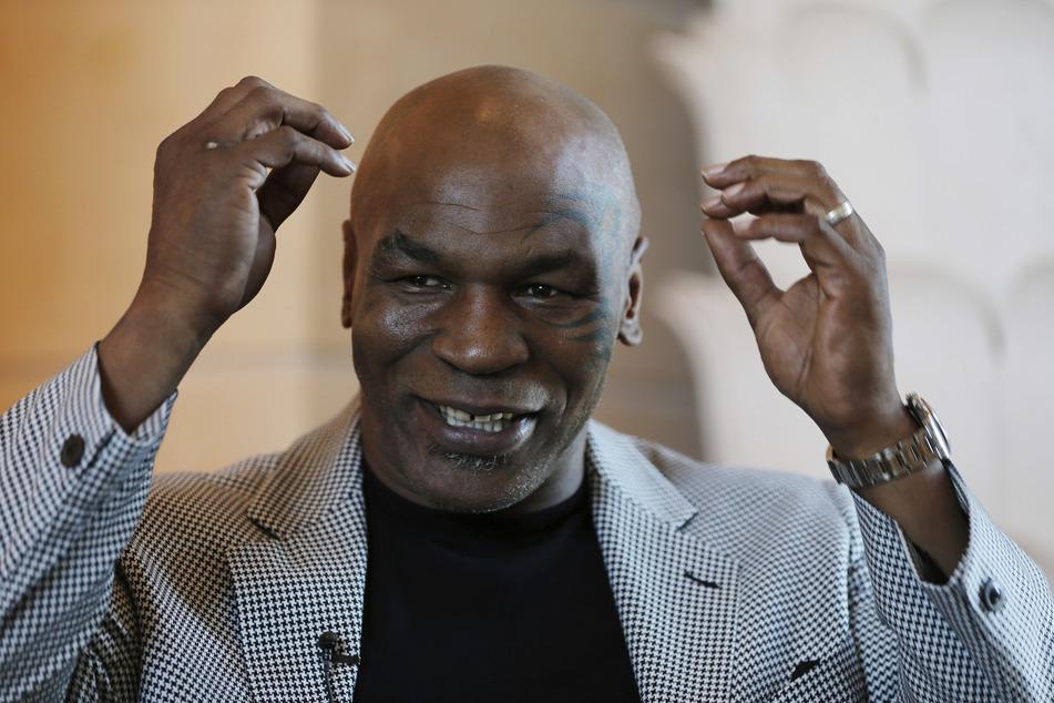 """""""Iron Mike"""" Tyson (54) will es noch einmal wissen und zieht sich erneut die Box-Handschuhe an."""