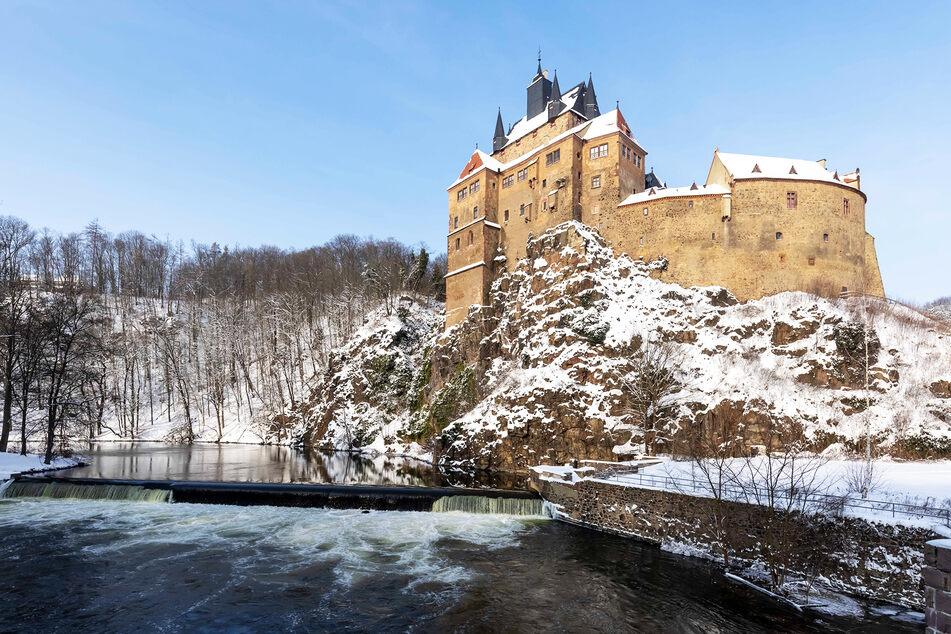 Die Burg Kriebstein ist ab heutigem Donnerstag wieder zugänglich.