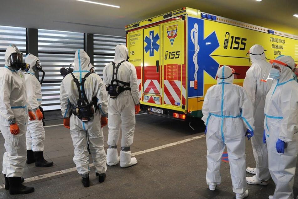 Nachbarschaftshilfe: Sachsen nimmt Corona-Patienten aus Tschechien auf