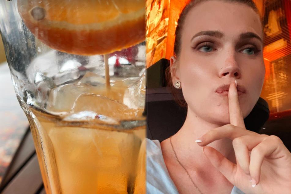 Ex-GNTM-Kandidatin Lucy Hellenbrecht (22) meldete sich mit zwei Instagram-Storys von ihrem Date am Freitagabend bei ihren Followern.