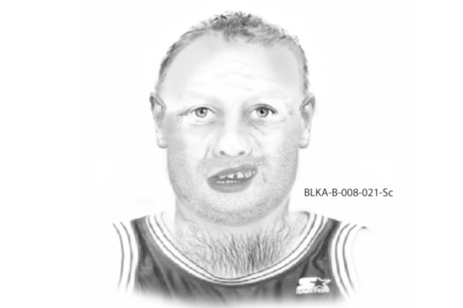 Nach einem sexuellen Übergriff auf ein Mädchen in Ruhmannsfelden in Bayern sucht die Polizei mit diesem Phantombild nach einem Mann.