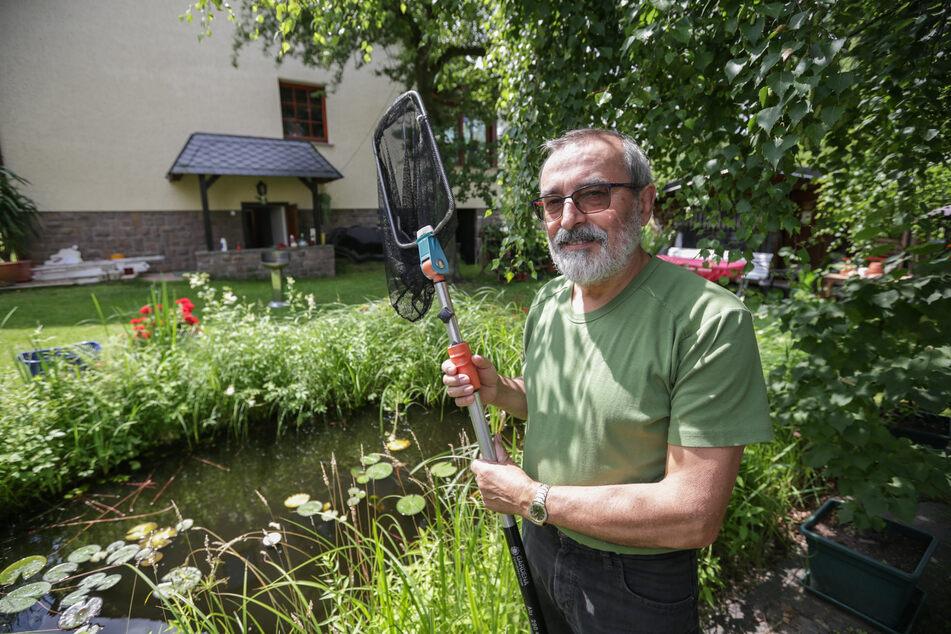Ende April wurde die Wohnung von Mühlaus Bürgermeister Frank Petermann beschossen. (Archivbild)