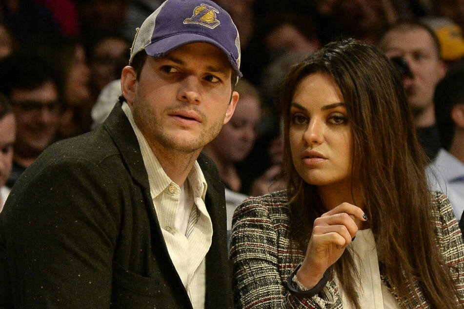 Ashton Kutcher (43, l.) und Mila Kunis (37) sind seit 2015 miteinander verheiratet. (Archivbild)