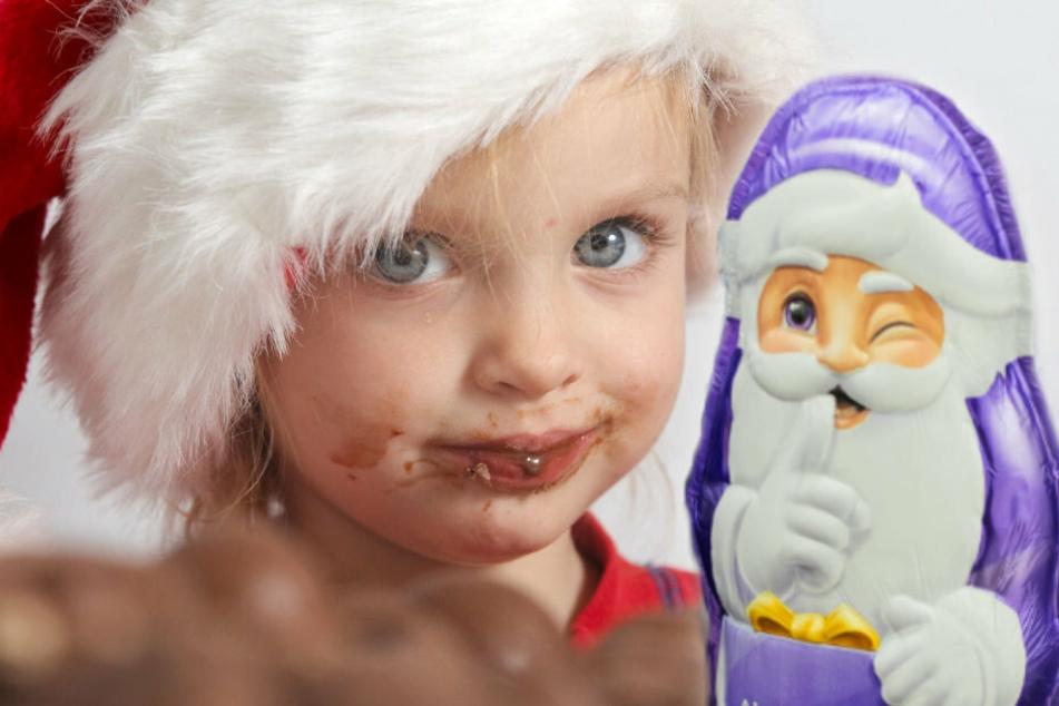 Auf Diät an Weihnachten? Milka-Weihnachtsmänner immer teurer und schmaler!
