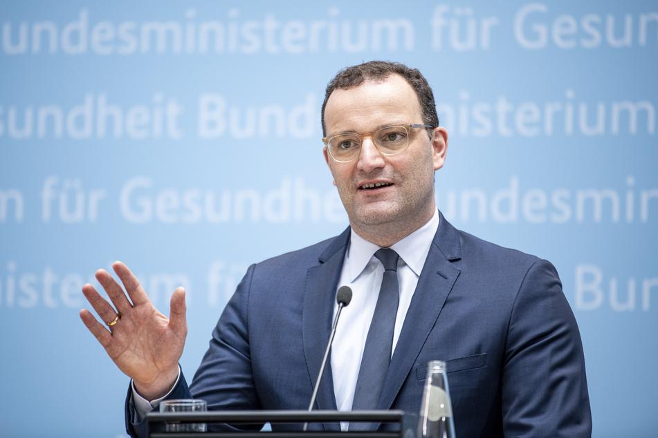 Gesundheitsminister Jens Spahn (41, CDU) plädierte am Dienstag für eine dritte Corona-Impfung.
