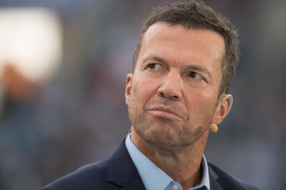 Sky-Experte und Ex-Nationalspieler Lothar Matthäus (59) mit kritischem Blick.