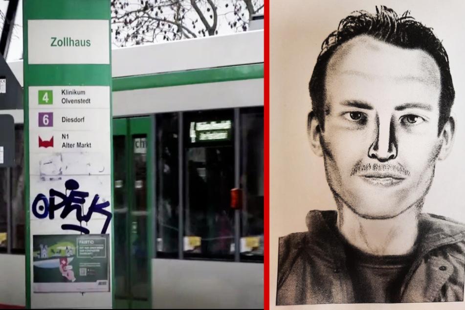 """Frau an Straßenbahn-Haltestelle brutal attackiert: """"Das Schlimmste war sein Blick!"""""""