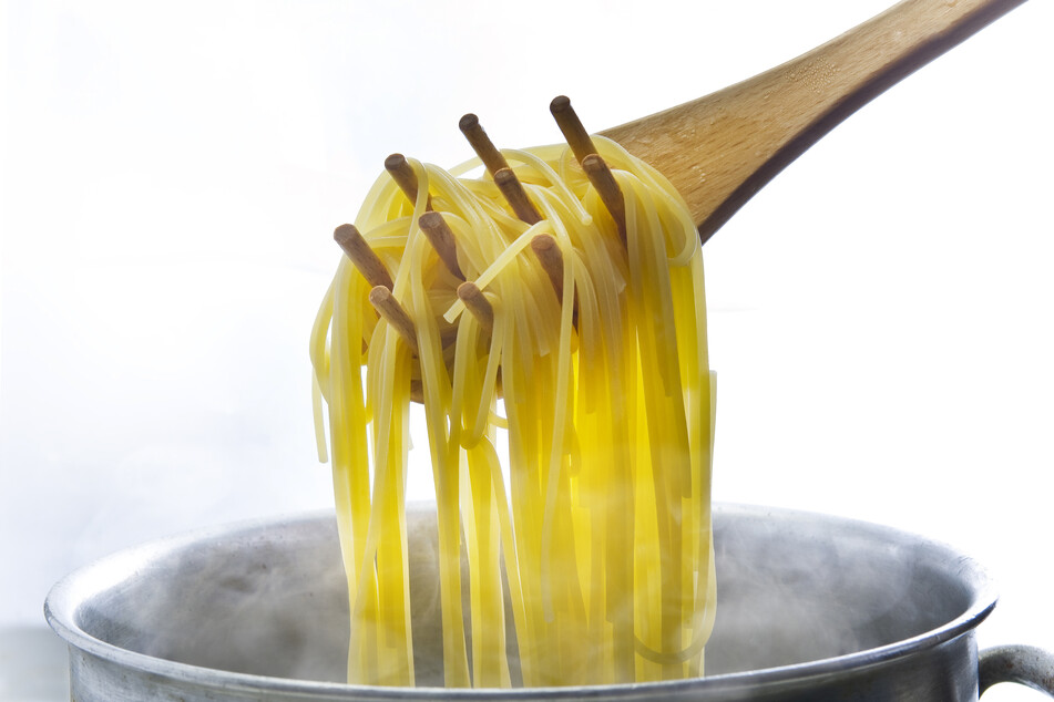 Nine of twelve family members died from poisoning after eating a pot of spoiled noodles (stock image).