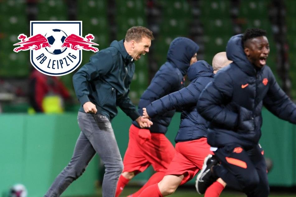 """RB Leipzig geht fürs Pokalfinale ans Äußerste: """"Dass es so spannend wird, haben wir nicht gedacht!"""""""