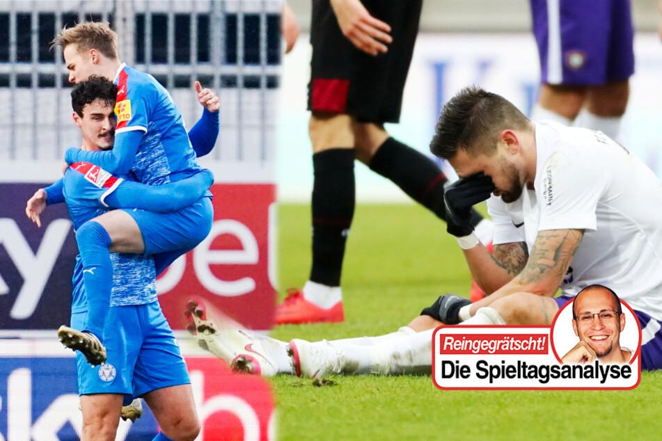 Kolumne zum FC Erzgebirge Aue und Holstein Kiel: Störche machen es den Veilchen vor!