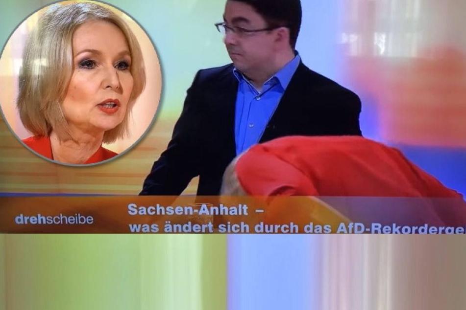 ZDF-Moderatorin kollabiert in Live-Sendung