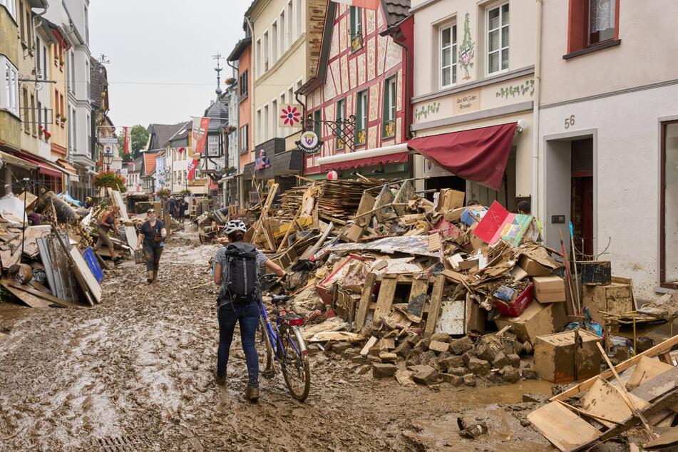 Die Flutkatastrophe tötete 132 Menschen im Kreis Ahrweiler.