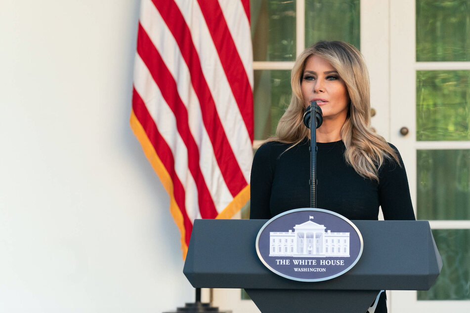 "Melania Trump says first lady role was ""greatest honor"" of her life"