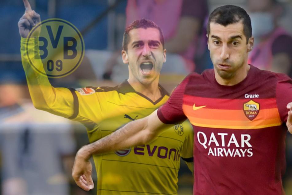 Ex-BVB-Kicker Mkhitaryan zerschießt die Serie A: Bomben-Tor lässt die Roma vom Titel träumen