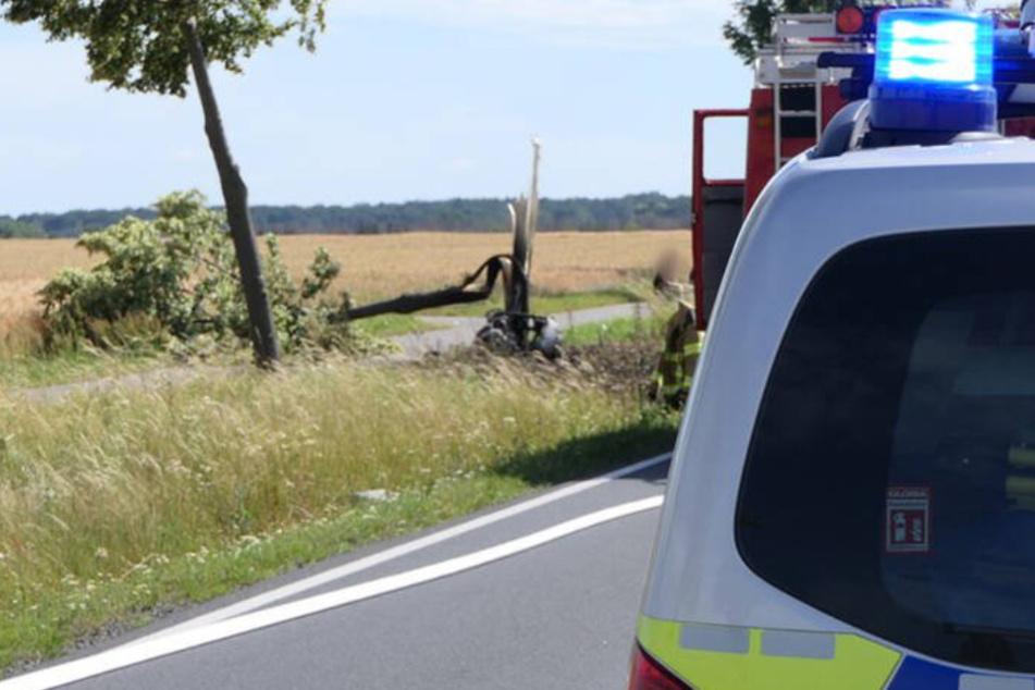 Tödlicher Motorrad-Crash bei Grimma: Polizei veröffentlicht neue Details
