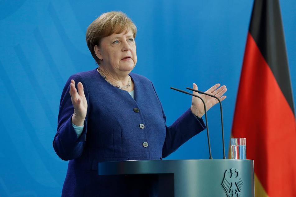 """Die Länder sollten bei weiteren Lockerungen der Corona-Regeln nach Ansicht von Bundeskanzlerin Angela Merkel (CDU) """"mutig und wachsam"""" vorgehen."""