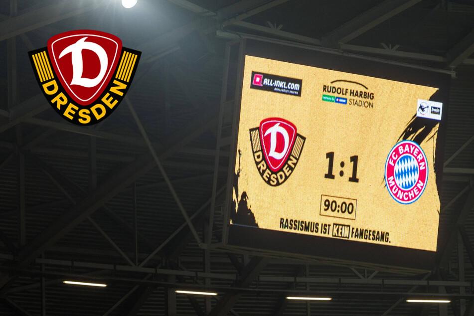 Trotz Remis gegen die Bayern: Dynamo Dresden liegt voll im Punkte-Soll