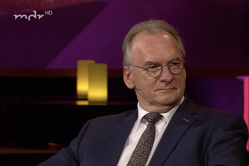 """Der """"Staatshasi"""": Rainer Haseloff findet, dass es schlimmere Spitznamen gibt."""