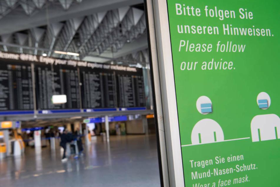 Masken und Abstand: Darauf müssen sich Passagiere jetzt an Flughäfen einstellen