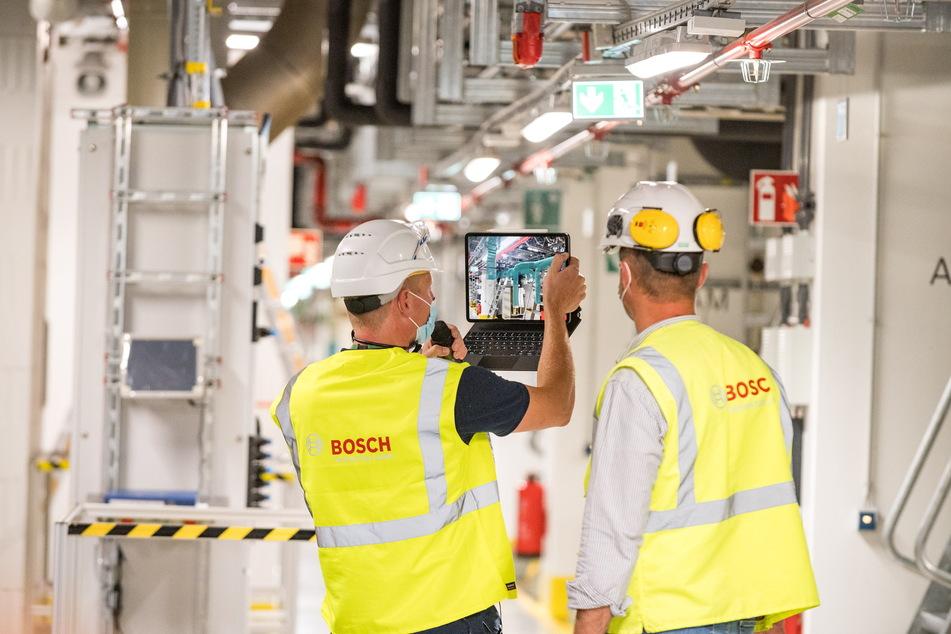 Jedes Rohr und Ventil ist digital eingezeichnet und für Mitarbeiter abrufbar, was die Wartung und Kontrolle erleichtert.
