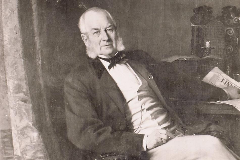Hermann Christian Kap-herr (1801-77) gehörte das Schloss ab 1866.