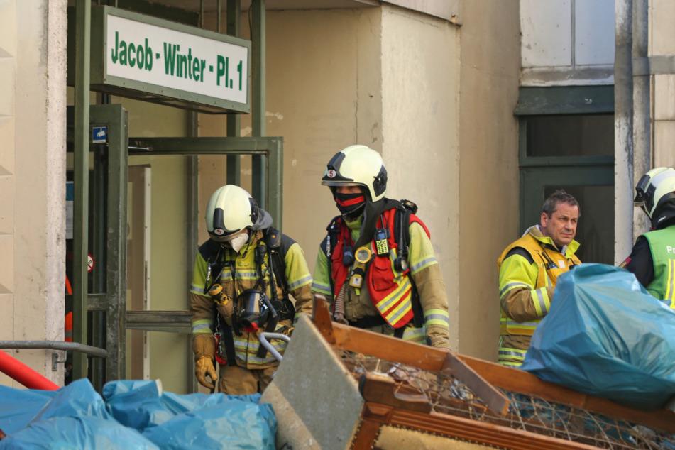Dresden: Brennende Matratze ruft Feuerwehr in Dresden auf den Plan