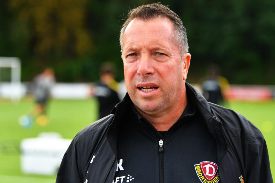 Dynamo-Coach Markus Kauczinski (50) sah viel Positives.