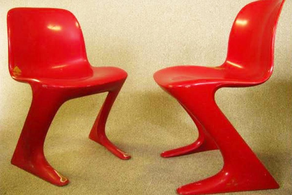 Zwölf von diesen Stühlen wurden aus dem Coschützer EIscafé geklaut.
