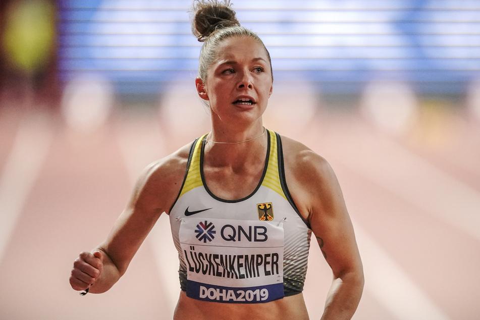 Gina Lückenkemper bedauert das Fernbleiben der Athleten aus der zweiten und dritten Reihe von kleineren Vereinen.