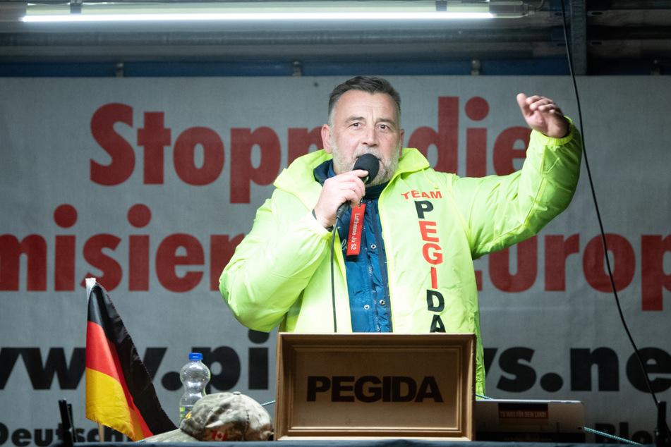Auch Pegida-Chef Lutz Bachmann (48) gilt als rechtsextrem.