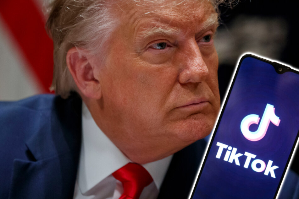 Termin für TikTok-Sperre steht, doch Donald Trump sieht noch einen Ausweg