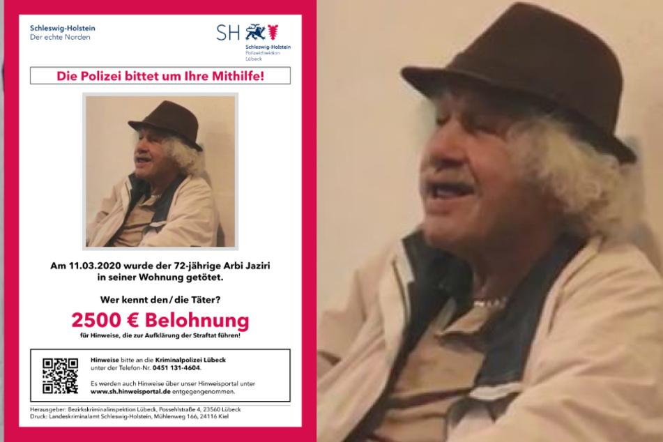 Mann (72) lag tot in seiner Wohnung: 2500 Euro für Hinweise