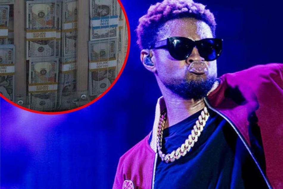 Scharfe Kritik an Sänger Usher: Warf er im Stripclub etwa mit Falschgeld um sich?