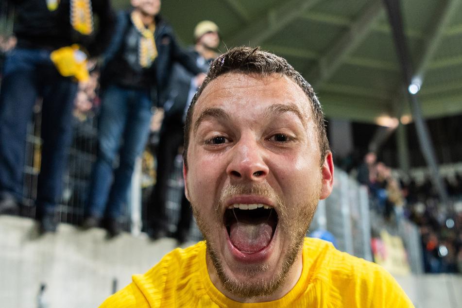 Justin Löwe (22) bleibt ein weiteres Jahr bei der SG Dynamo Dresden.