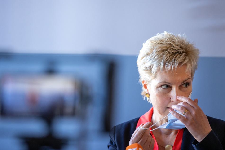 Manuela Schwesig (SPD) ist die Ministerpräsidentin von Mecklenburg-Vorpommern.