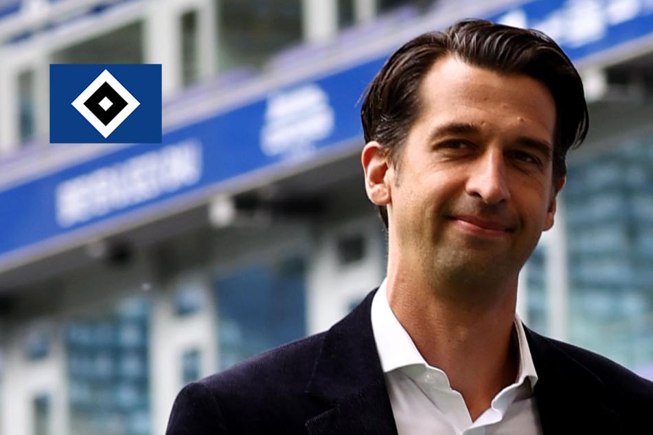 HSV-Sportchef Jonas Boldt sucht nach neuem Innenverteidiger
