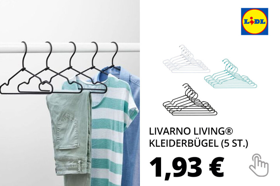 LIVARNO LIVING® 5 Kleiderbügel