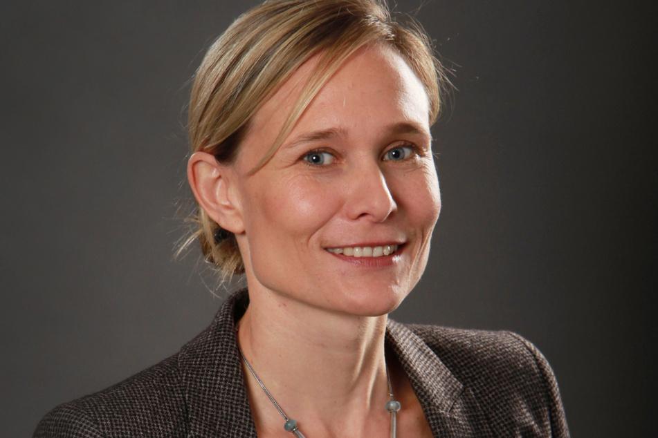 Barbara Sarx-Lohse (45) vom sächsischen Brauerbund.