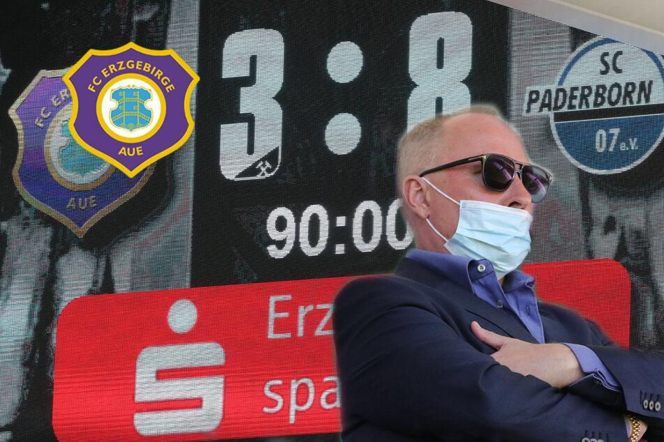 """FC Erzgebirge Aue: """"So ein Ergebnis gab es vielleicht zuletzt in der Amateur-Oberliga"""""""