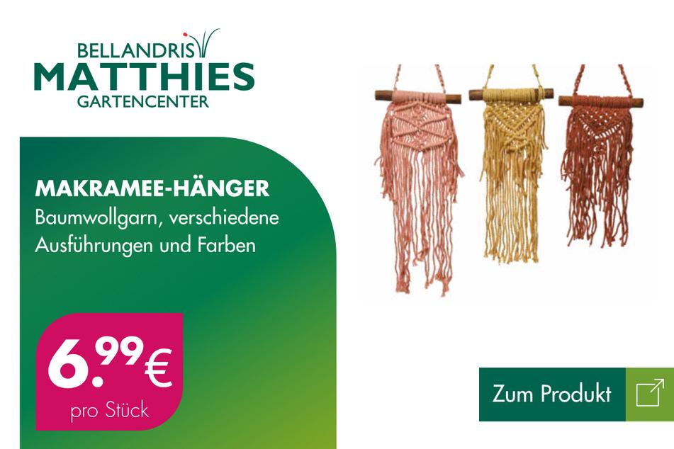 Makramee-Hänger für je 6,99 Euro