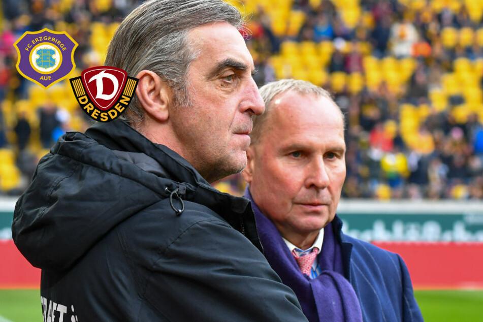 Neustart in Bundesliga: Aue froh über grünes Licht, Zurückhaltung bei Dynamo