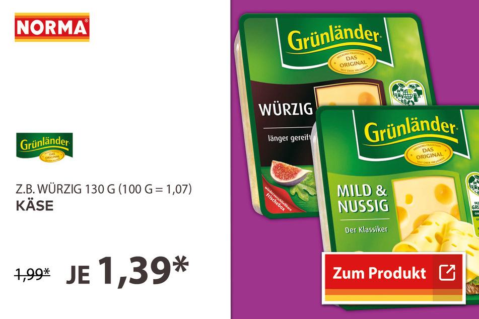 Käse für 1,39 Euro